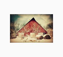 Winter day on the Farm Unisex T-Shirt