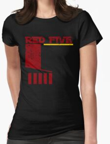 Red Five Womens Fitted T-Shirt