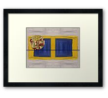 COFFEE FOR 2 Framed Print