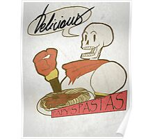 Papy's Pastas Poster