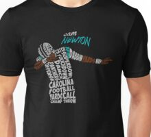 Cam Newton text design Unisex T-Shirt
