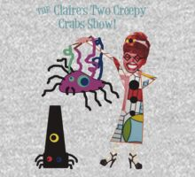 The Claire's Two Creepy Crabs Show! One Piece - Short Sleeve