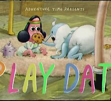 Adventure Time 'play date' title card by Mr-splosh