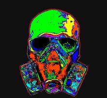 Toxic skull (green) Unisex T-Shirt