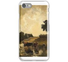 Joseph Werner, Allegory of the Marriage of the Grand Dauphin Louis of France and Princess Maria Anna of Bavaria iPhone Case/Skin