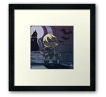 0028 - Super Cuteslevania Framed Print