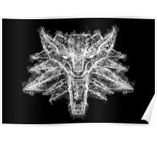 Witcher 3 wolf art Poster