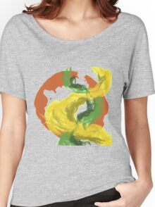 Abstractitude of Lines Women's Relaxed Fit T-Shirt