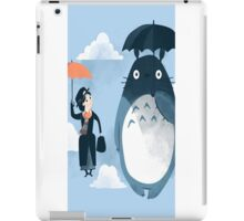 Totoro Meet Marry Popins iPad Case/Skin