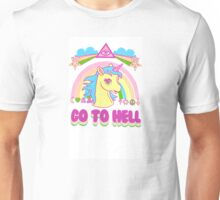 Unicorn Go To Hell Unisex T-Shirt