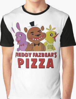 Freddy Fazbear's Pizza Employee Graphic T-Shirt