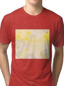 Yellow Wash Tri-blend T-Shirt