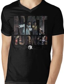 NAT TURNER  Mens V-Neck T-Shirt