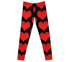 Heart With Water Drops Leggings