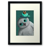 Owl and the Mouse Framed Print