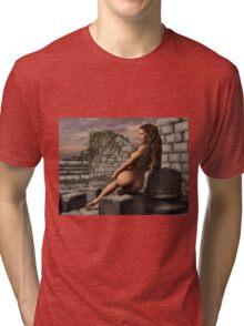 Naked Ruins  Tri-blend T-Shirt
