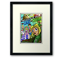 The Legend, is more than just a game! (CuteLucca) Framed Print