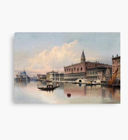 Karl Kaufmann Austria View from Venice Canvas Print