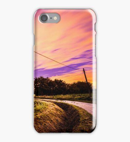 night in the fields iPhone Case/Skin