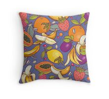 tropical dream Throw Pillow
