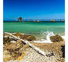 italian seaside Photographic Print