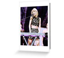 Taylor Swift - Capital JBB  Greeting Card