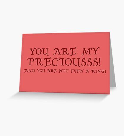 Nerd Valentines: My precious! Greeting Card