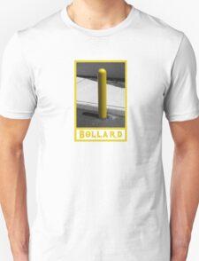 Bollard Traffic Barrier Post Unisex T-Shirt