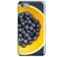 Blueberry Bowl iPhone Case/Skin