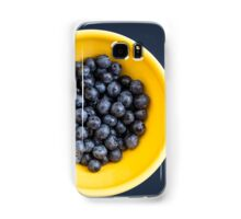 Blueberry Bowl Samsung Galaxy Case/Skin