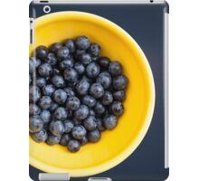 Blueberry Bowl iPad Case/Skin
