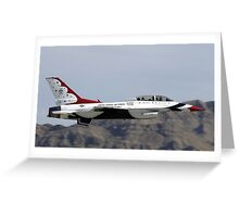 Military jet Greeting Card