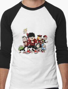 Dennis The Menace And Gang Men's Baseball ¾ T-Shirt