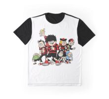 Dennis The Menace And Gang Graphic T-Shirt