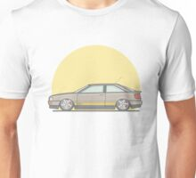 Audi 80 Coupe Vector Illustration Unisex T-Shirt