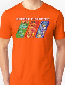 Pokemon - Choose A Starter T-Shirt
