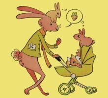 Incorrigibly Fatherly Rabbit Kids Tee