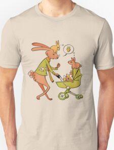 Incorrigibly Fatherly Rabbit Unisex T-Shirt