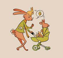 Incorrigibly Fatherly Rabbit Womens Fitted T-Shirt