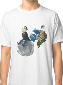 Moon and Satellite MorMor Classic T-Shirt