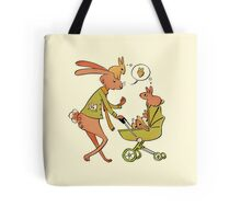 Incorrigibly Fatherly Rabbit Tote Bag