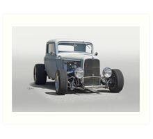 1932 Ford 'Primer Coat' Coupe I Art Print