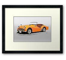 1960 Triumph TR3A Framed Print