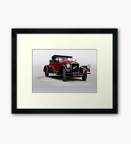 1927 Pierce Arrow Series 80 Runabout Framed Print