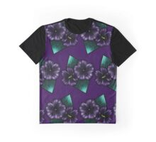 Geo-Flowers Graphic T-Shirt