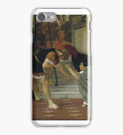 L07132-14-lr-1 by Lawrence Alma-Tadema iPhone Case/Skin