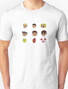9 Faces T-Shirt