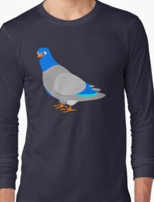 Pigeon Blue Sky Long Sleeve T-Shirt
