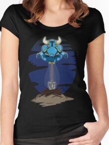 Shovel Yoga Knight Women's Fitted Scoop T-Shirt