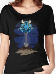 Shovel Yoga Knight Women's Relaxed Fit T-Shirt